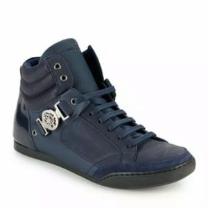 Roberto Cavalli Shoes - ROBERTO CAVALLI LEATHER SHOES